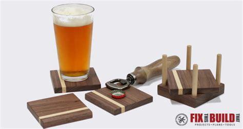 Diy Wooden Drink Coasters