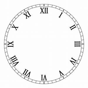 blank clock face clipart best With clock face templates for printing
