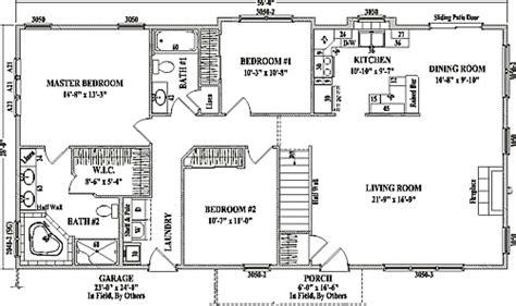 open floor plans beautiful ranch house plans open