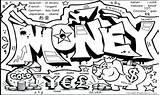 Coloring Money Pages Graffiti Printable Bill Dollar Characters Getdrawings Sheets Getcolorings Colorings Stunning Graff sketch template