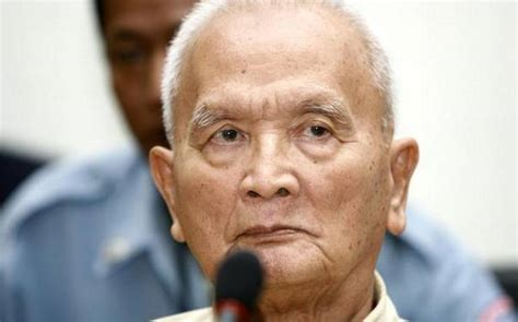 cambodian khmer rouges chief ideologist brother number  nuon chea dead    hindu