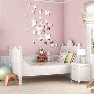 Stickers Effet Miroir : stickers 21 papillons effet miroir stickers malin ~ Teatrodelosmanantiales.com Idées de Décoration