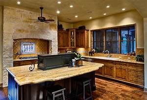 hill country ranch kitchen traditional kitchen With kitchen cabinets lowes with texas hill country wall art