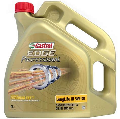 castrol 5w30 longlife 3 castrol edge professional longlife iii 5w 30 4l