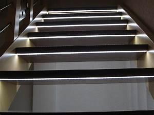 Treppenbeleuchtung Stiege Handlauf