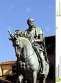 Florence - Grand Duke Cosimo I Stock Image - Image of ...