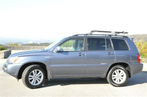 Sell Used 2007 Toyota Highlander Hybrid Limited Awd 3rd
