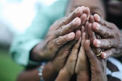 Care Praying Caring Parents Children Together Taking