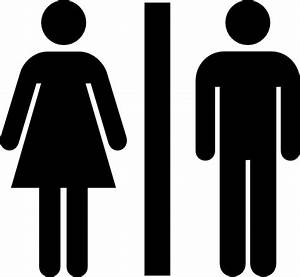 Male and female bathroom clip art at clkercom vector for Male female bathroom sign images