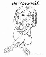 Coloring American Grace Pages Doll Printable Getcolorings sketch template