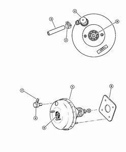 Dodge Intrepid Hose  Brake Booster Vacuum  W  2 7l Engine