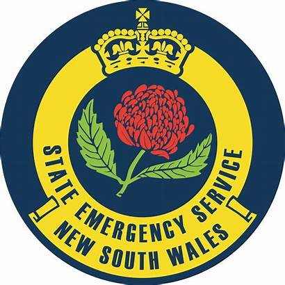 Ses South Wales Emergency Service Badge State