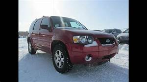 2005 Ford Escape Limited 4wd Start Up  Walkaround And