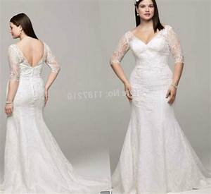 plus size dresses cheap with sleeves pluslookeu collection With cheap plus size wedding dresses with sleeves