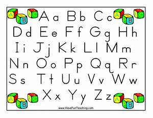 alphabet letter poster zaner bloser have fun teaching With poster alphabet letters
