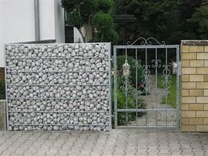 Gabionenzaun Mit Hecke : details zu gabione steinkorb gabionenzaun sichtschutz ~ Orissabook.com Haus und Dekorationen