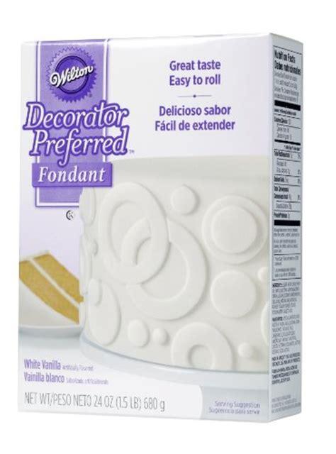 wilton 710 2301 decorator preferred fondant 24 ounce white