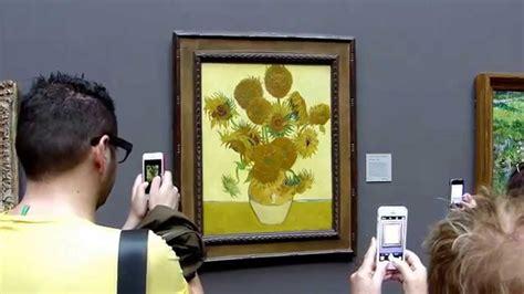 p london national gallery painting  van gogh sunflowers youtube