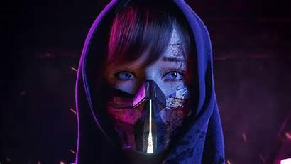 Mask 4k Sci Fi 5k