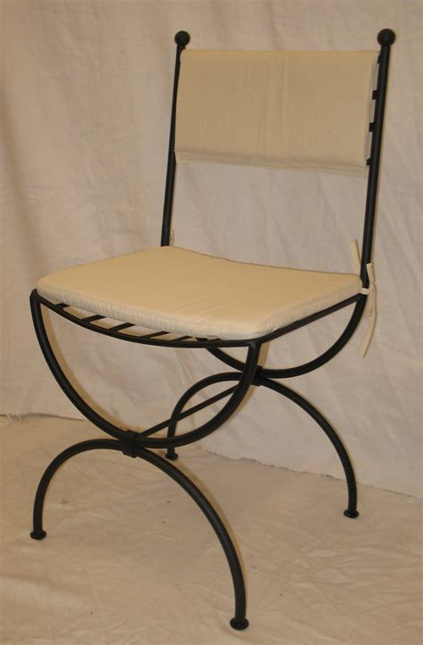 chaise fer forge chaise fer