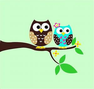 Owl wall decals childrens wall decals tree decal by lucylews for Owl wall decor