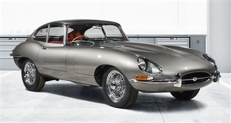 "Series 1 E-type Is ""reborn,"" Thanks To Jaguar"