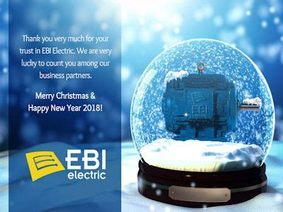 Thank you, Merry Christmas and Happy New Year 2018   EBI