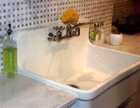 pedestal sink with built in backsplash cast iron sink with built in backsplash gardening w