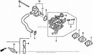 Honda Engines Gx610 Qafu Engine  Jpn  Vin  Gdag