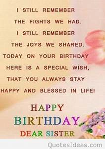 Image result fo... Cute Sister Bday Quotes