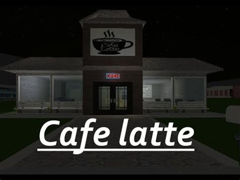 Hello, we're a cafe group on roblox that plays bloxburg. Modern Cafespeedbuildwelcome To Bloxburgroblox Youtube
