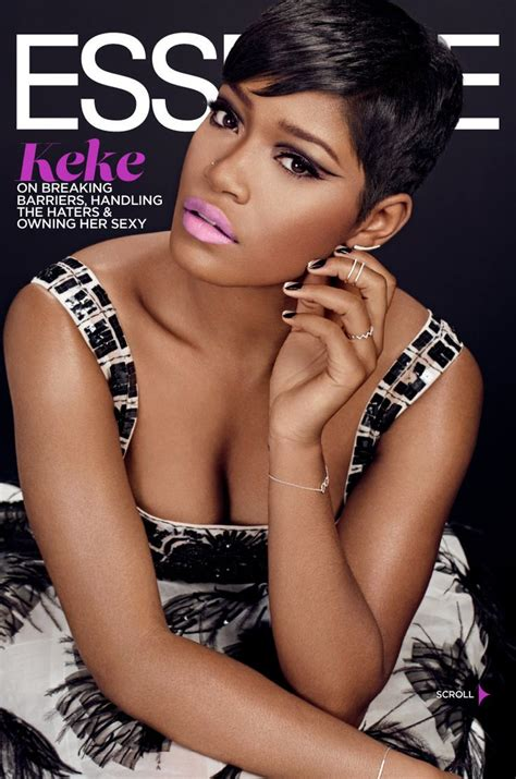 essence magazine january  actress keke palmer photo