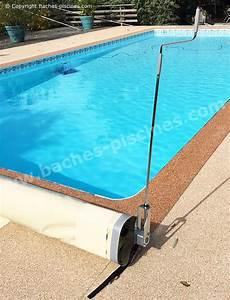 Bache À Barre Piscine : manivelle manuelle pour bache de piscine barres baches ~ Melissatoandfro.com Idées de Décoration