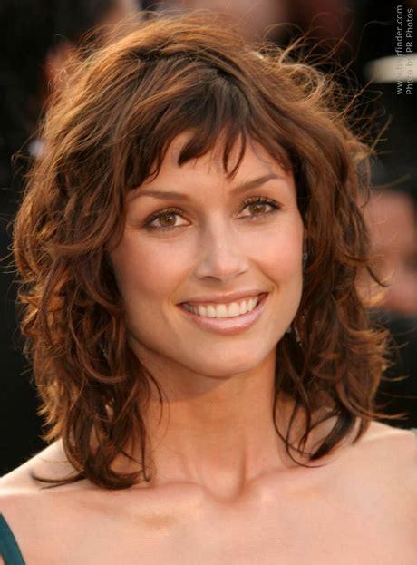 medium length shaggy haircuts  women