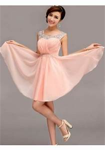 top vente robe de demoiselle d39honneur de grande qualite With robe demoiselle d honneur peche