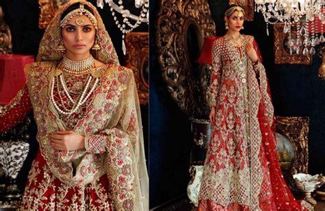 Wedding Dresses Pakistani : 20 Best Pakistani Red Bridal Dresses Perfect For Barat Day