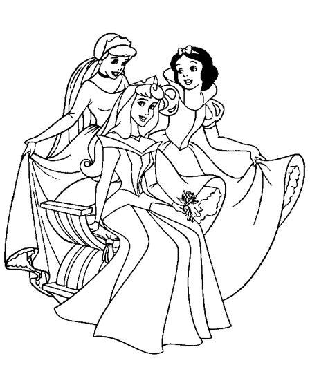 Prinsessen Disney Kleurplaten by Kleurplaten En Zo 187 Kleurplaten Disney Prinsessen