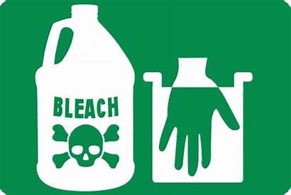 Bleach Chlorine Dangers Icon Dangerous Alternatives Safer