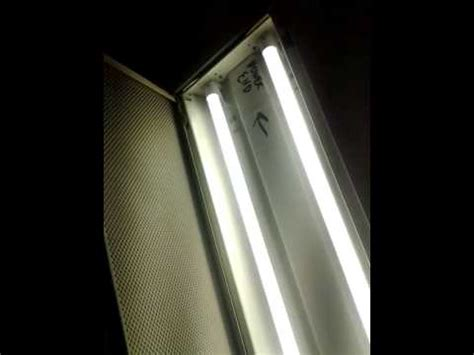 fluorescent light conversion to led t 8 part 2