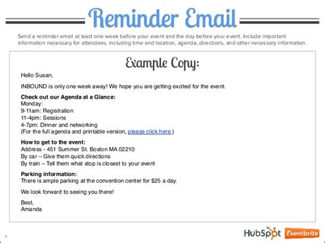 reminder email template the ultimate event reminder email guide