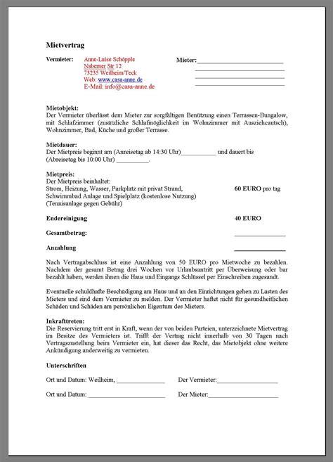 kuendigung mietvertrag vorlage vermieter