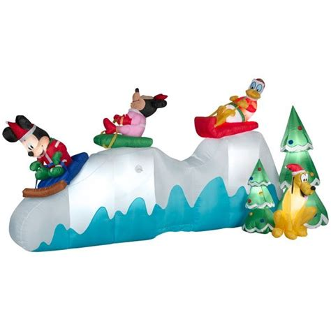 fun christmas inflatables images  pinterest
