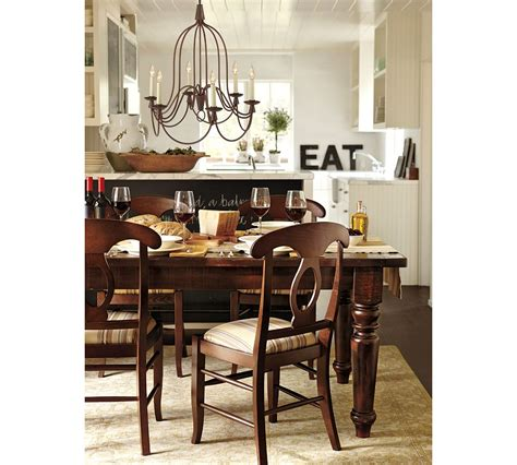 Pottery Barn Napoleon Chair Cushions by How To Choose A Kitchen Table With Susan Serra