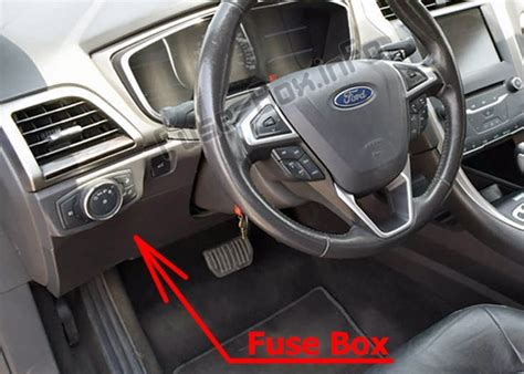 Ford Fusion 2010 Fuse Box Acces by Fuse Box Diagram Gt Ford Fusion 2017 2019