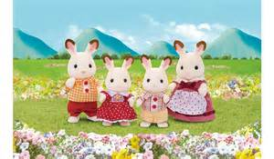 Baby Furniture Sets by Sylvanian Families Chocolate Rabbit Family Kids