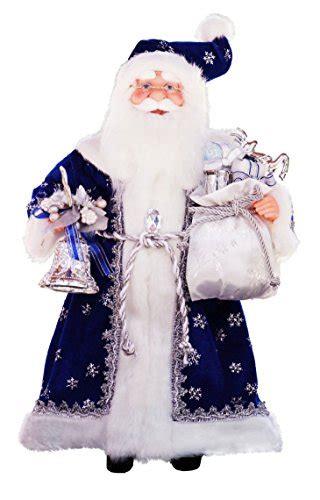 standing royal blue santa claus christmas