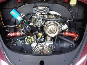 Clean 1600cc Engine In A Standard Bug  The Progressive Dual Weber Carburetor Is A Nice Touch