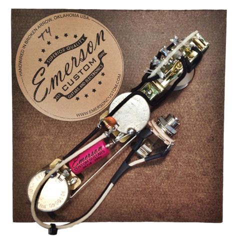 Telecaster Wiring Diagram Emerson by Emerson Custom 4 Way Tele Prewired Kit T4 Axe And