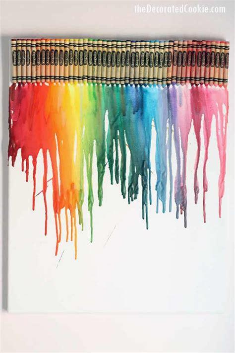 crayon art crayon crafts  melted crayon art  kids