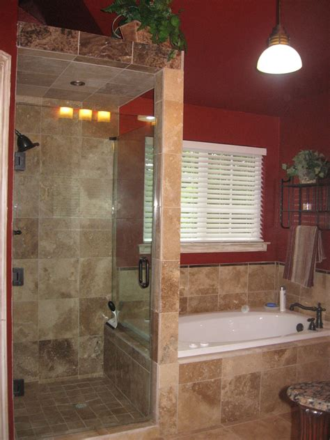 walk in shower without door for more air and light decohoms